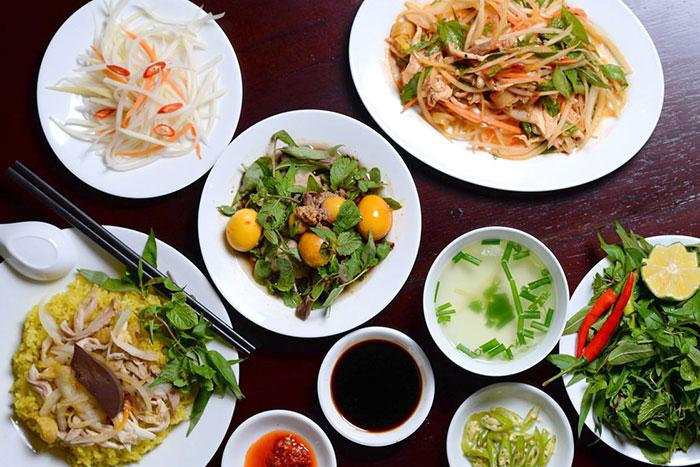 Comida en el pueblo de Cam Thanh Hoi An
