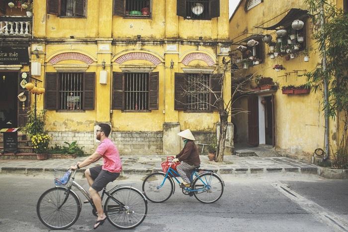 Paseo en bicicleta en Hoi An
