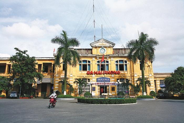 Estacion de tren en Haiphong