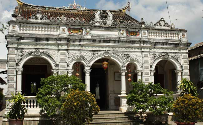 Casa huynh thuy le en el delta del Mekong Vietnam
