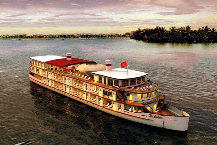 Crucero en el lago Tonle Sap en Camboya
