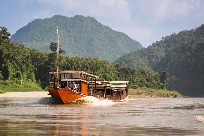Crucero por el rio Mekong Luang Xay