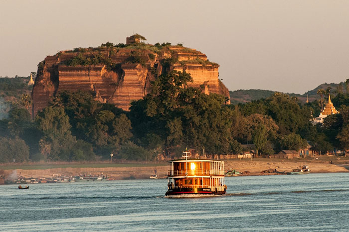 Crucero por el rio Irrawaddy Birmania