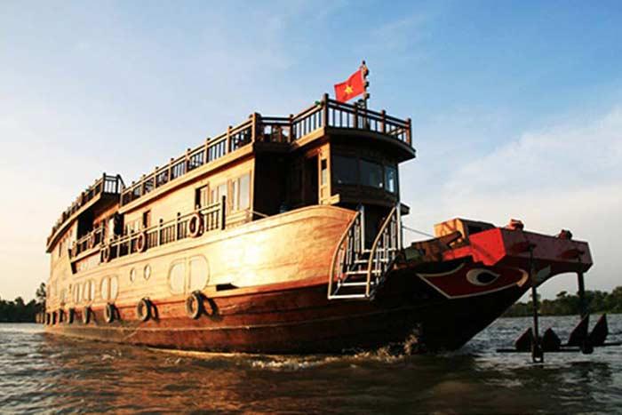 Crucero en el rio Mekong Vietnam