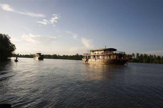 Crucero por el rio Mekong