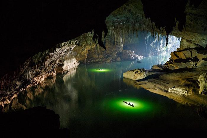 Cueva de Tham Khoum Xe en Laos