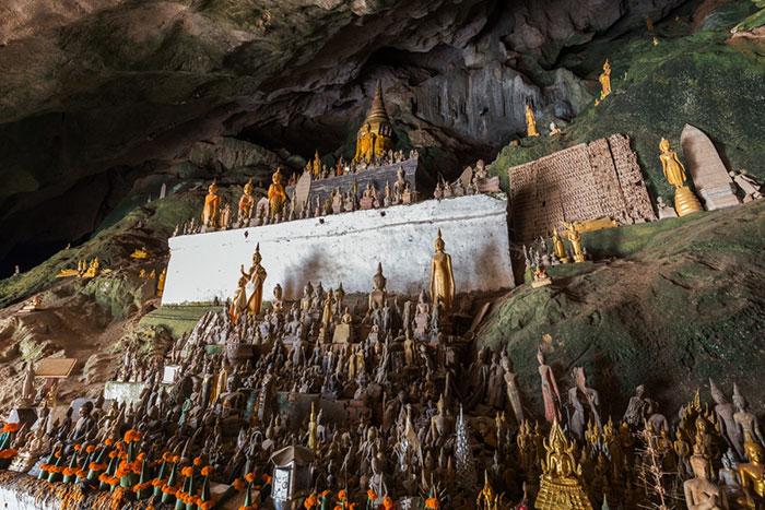 Cuevas de Pak Ou en Luang Prabang Laos