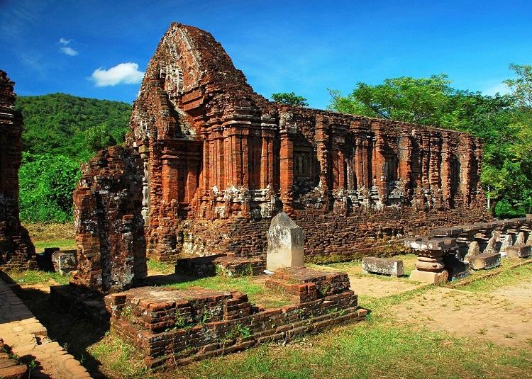 Templo My Son de la cultura cham en Vietnam