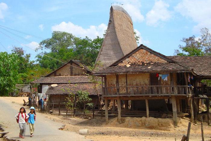 Aldea etnica en Dalat Vietnam
