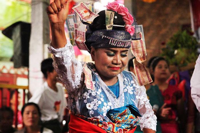 Danza tradicional Nat Pwe Myanmar