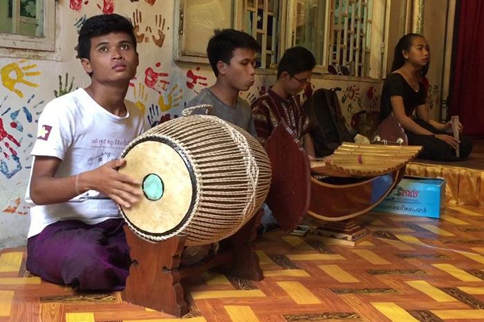 Canciones de Camboya Conjunto Monroe