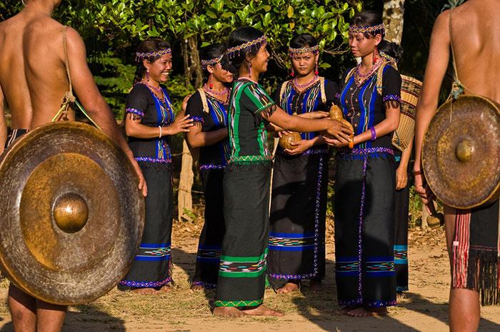 Gongs de las etnias indochinas en Camboya