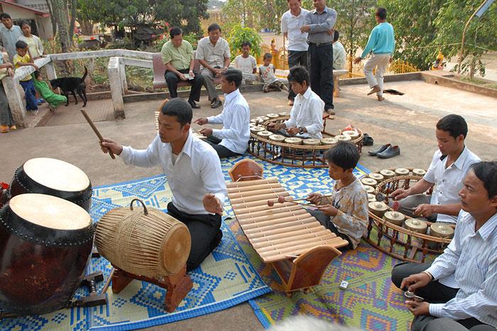 Danza tradicional de Camboya Pinpeat