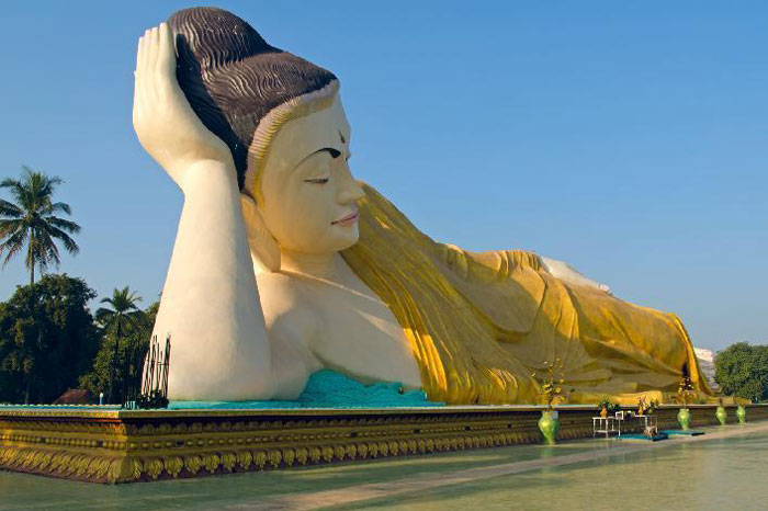 Bago antigua capital de Myanmar