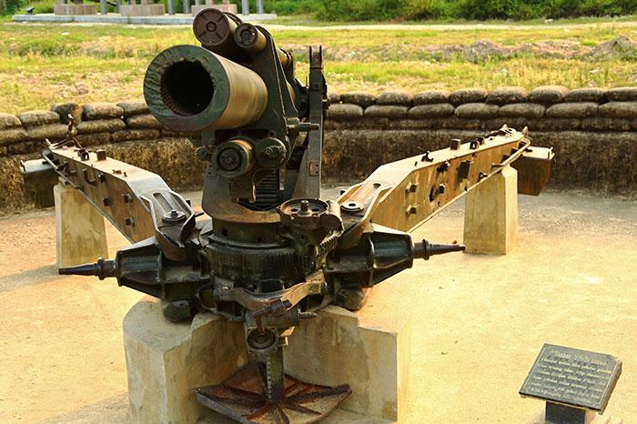 Artilleria en Dien Bien Phu
