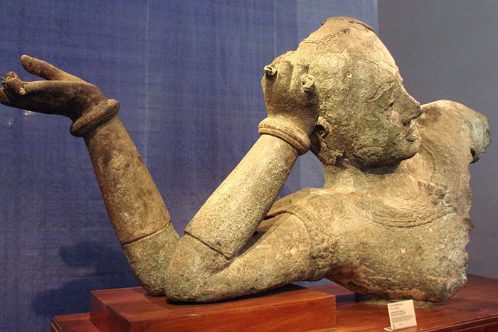 Dios harihara en el museo nacional de Camboya
