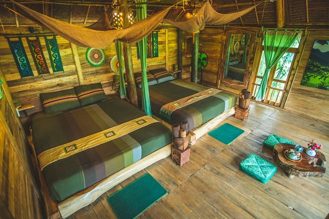 Alojamiento en Pu Luong Treehouse
