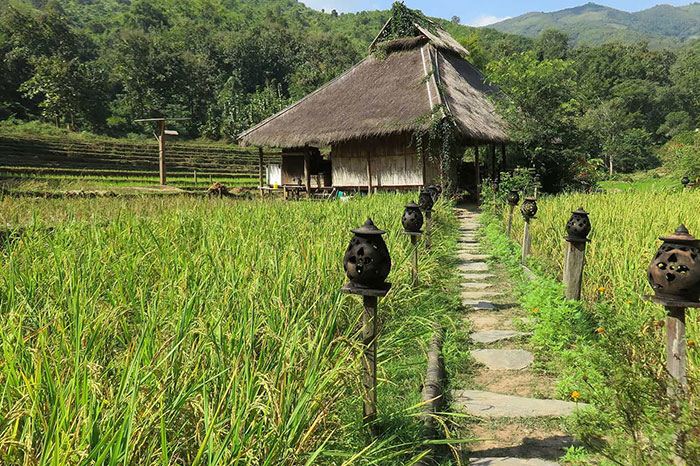 Kamu Lodge en Laos