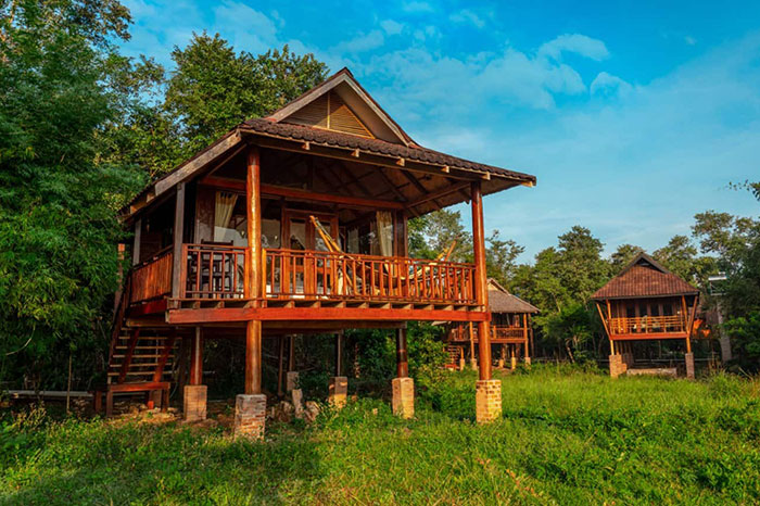 Ecolodge Kingfisher en Laos