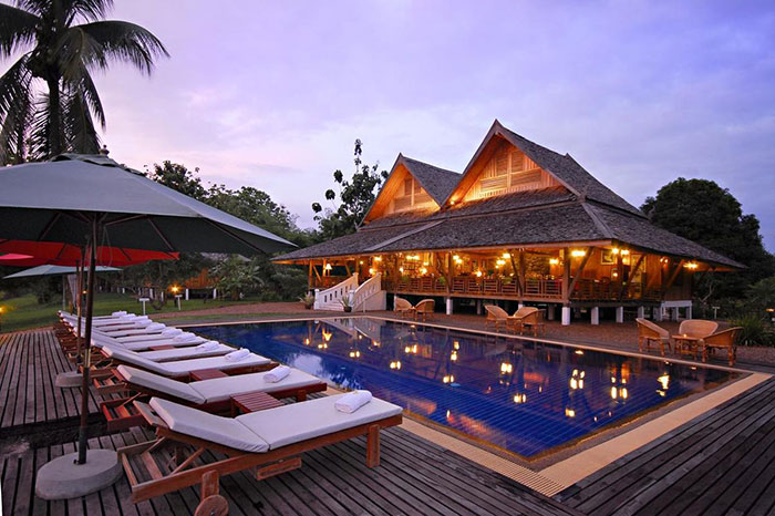 La Folie Lodge en Laos
