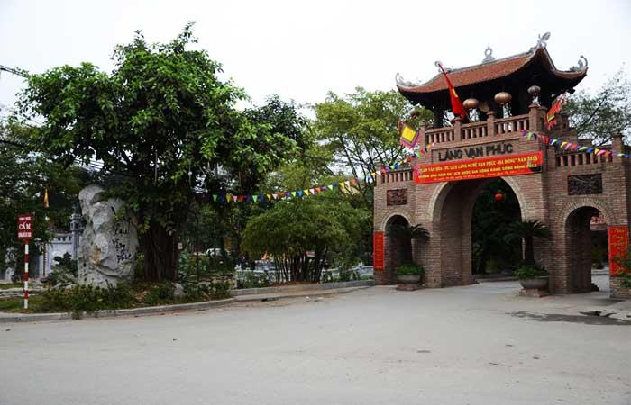 El pueblo de seda Van Phuc