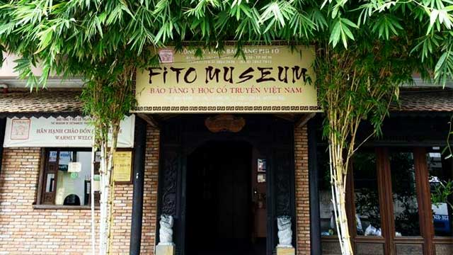 Entrada al Museo Fito medicina tradicional de Saigon