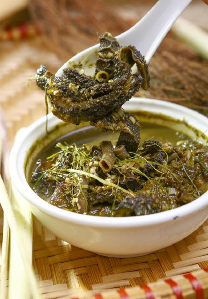 Especialidad culinaria de Vietnam Nam Pia