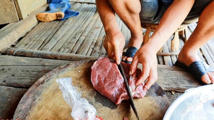 Especialidad culinaria en Muong La