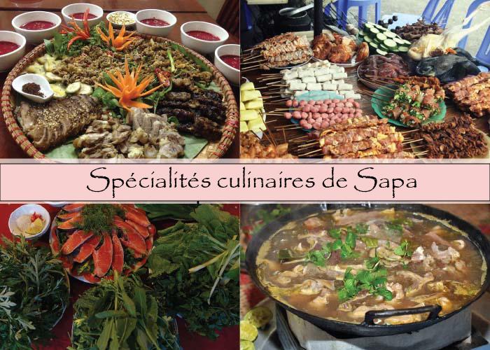 Especialidades culinarias de Sapa Vietnam