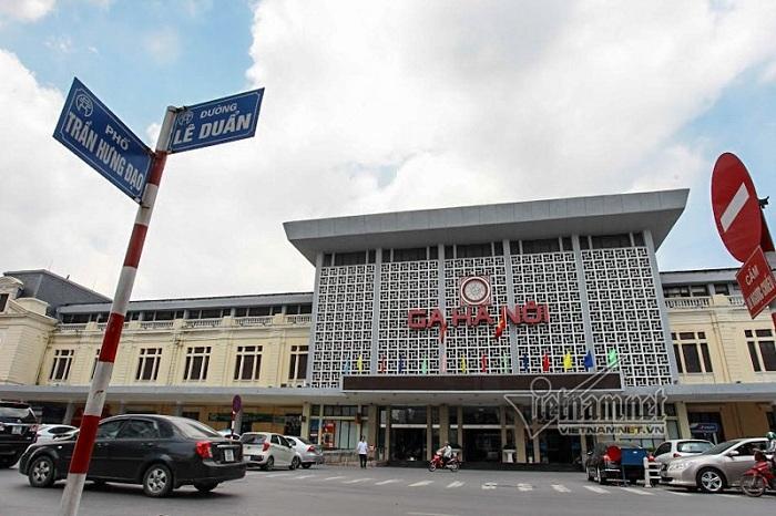 Estacion de tren en Hanoi para ir a Ninh Binh