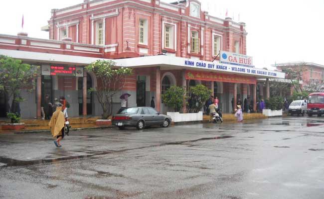 La estacion de tren de Hue Vietnam