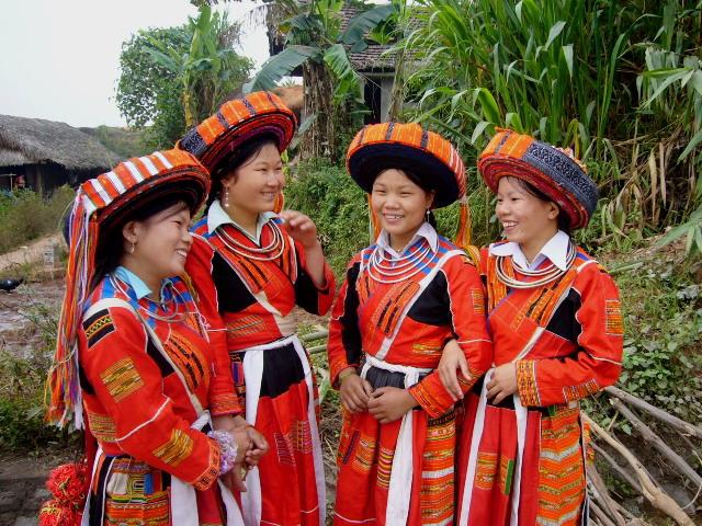 Etnia hmong rojo