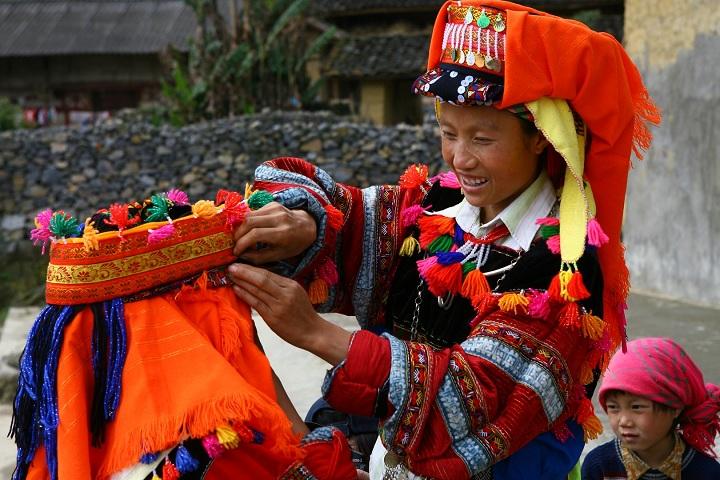 Etnia lo lo en Ha Giang Vietnam