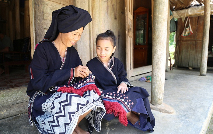 Etnias en Lam Binh