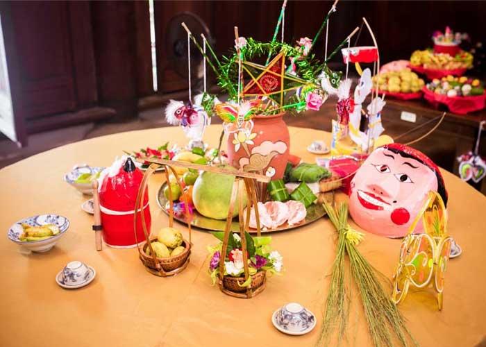 Festival del medio otoño frutas