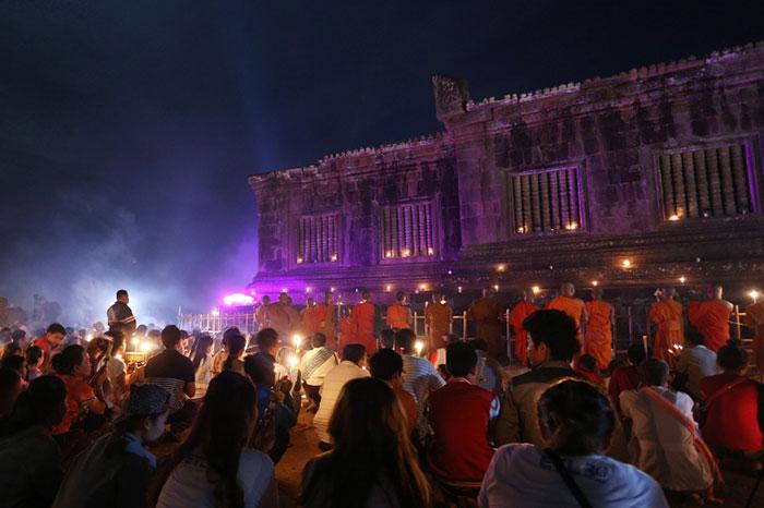 Festival de Vat Phou Laos