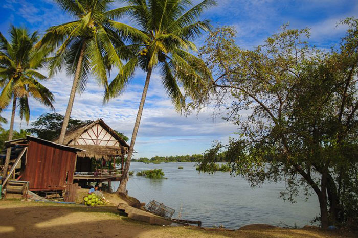 Isla de Don Daeing en Vat Phou