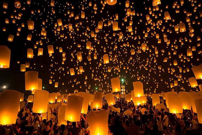 Festividades en Myanmar