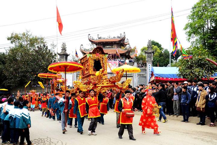 Fiesta del templo de Bac Ha