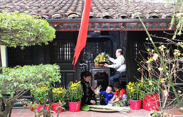 Fiesta del Tet etnia Kinh