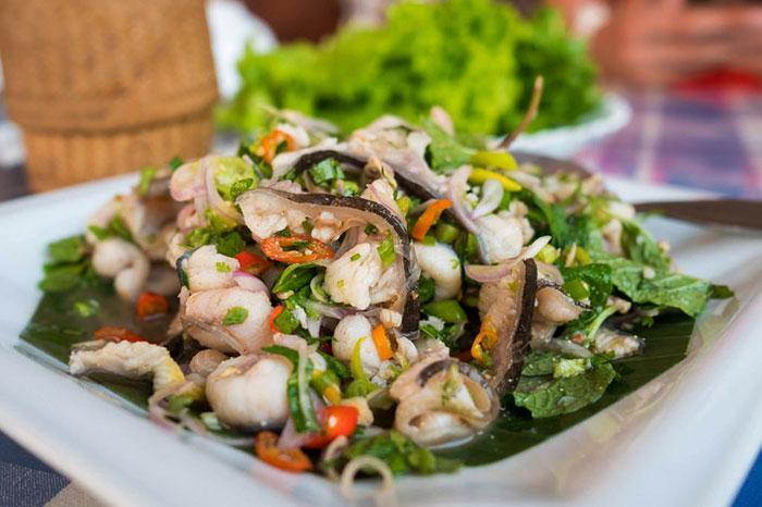 Gastronomia en Don Det Laos