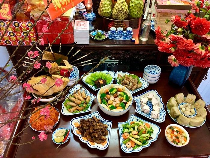 Las costumbres tradicionales del Tet en Vietnam culto