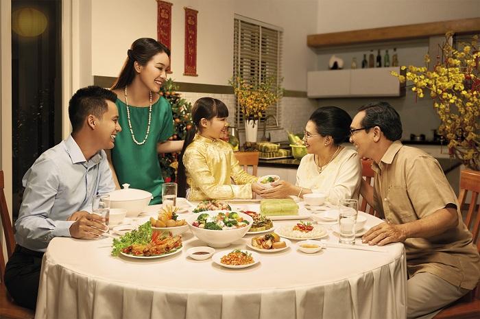 las costumbres tradicionales del Tet en Vietnam