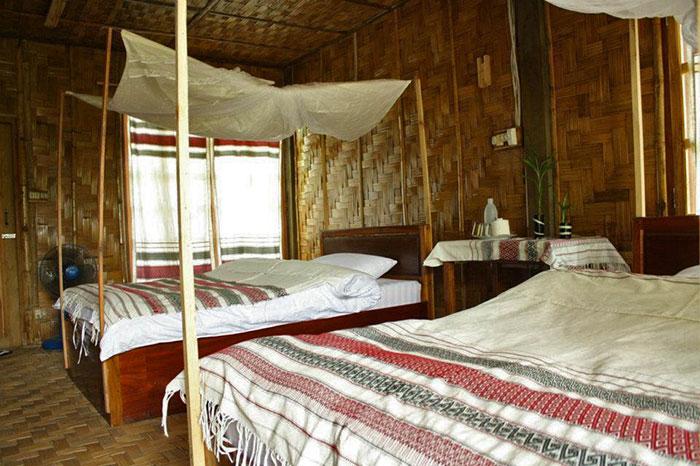 Guesthouse Phou Lu en Muang Sing en Laos