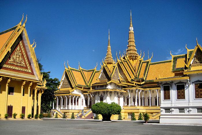 Arquitectura de Nom Pen en Camboya