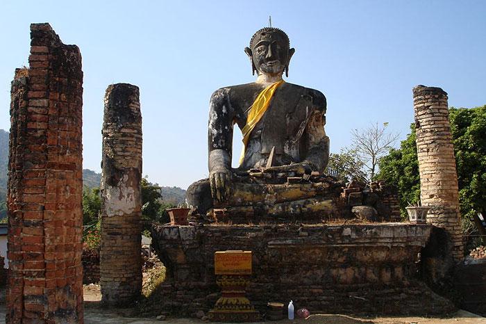 Antigua capital Muang Khoun Laos