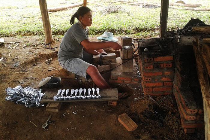 Pueblo de Ban Phia Laos