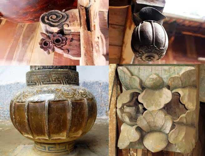 Esculturas del palacio de la familia Vuong