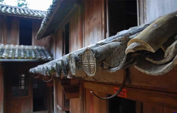 Palacio de la familia del rey Vuong en Ha Giang