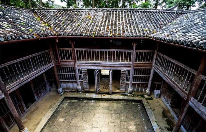 Palacio de la familia del rey hmong en ha Giang